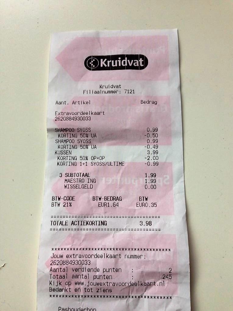 [UPDATE] [PRIJSFOUT] gratis producten bij Kruidvat
