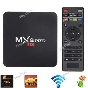MXQ Pro KODI Android 5.1 TV Box(4K,Amlogic S905,Quad-core,64Bit,1G/8G,H.265 Hardware Decoding) €33,88