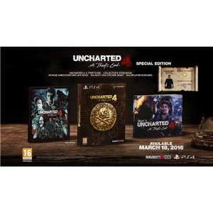 Uncharted 4: A Thief's End Special Edition (PS4) voor €41,99 @ Redcoon