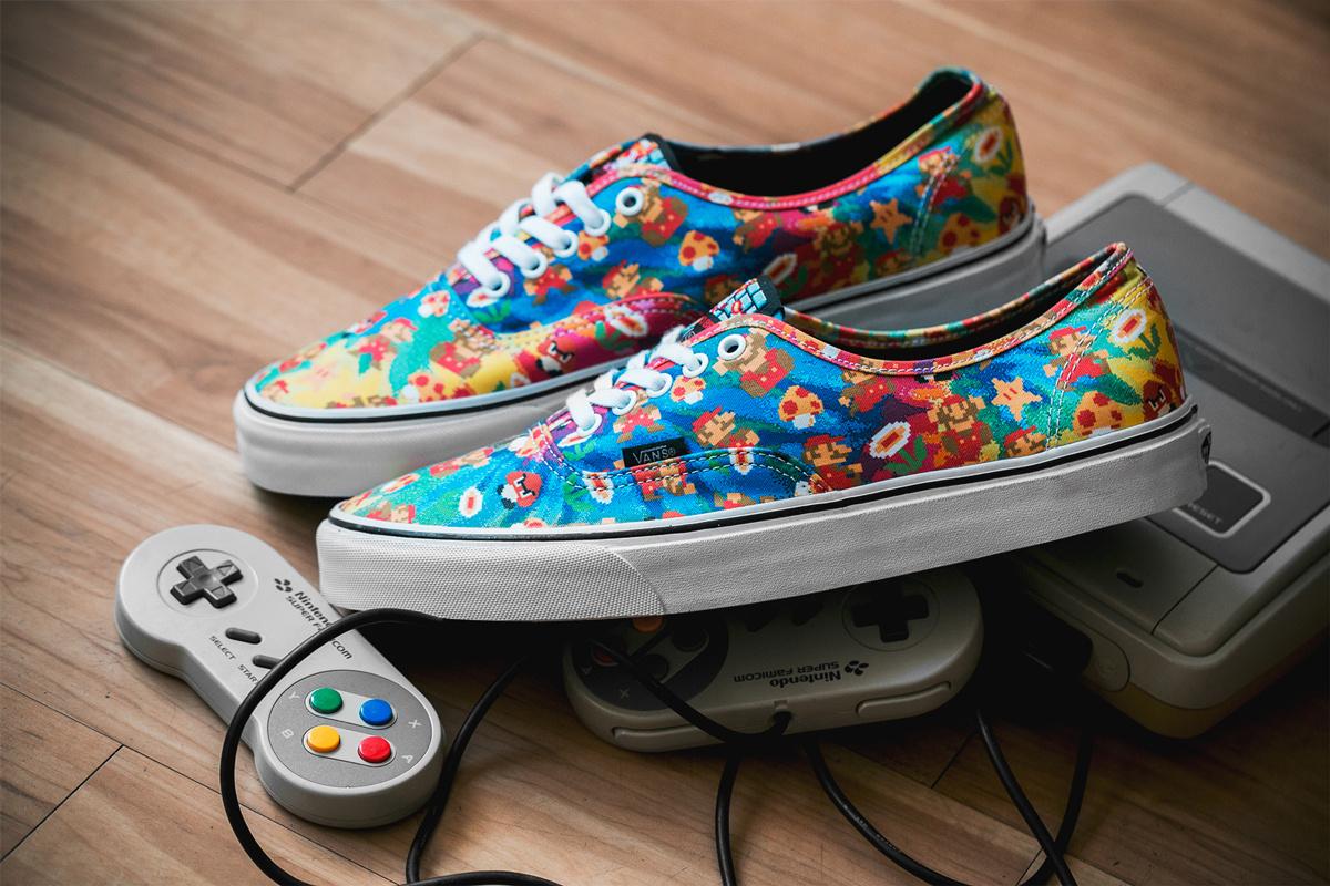 [UPDATE] Verschillende Vans uit Nintendo-collectie voor €39,94 na code @ Sneakerbaas