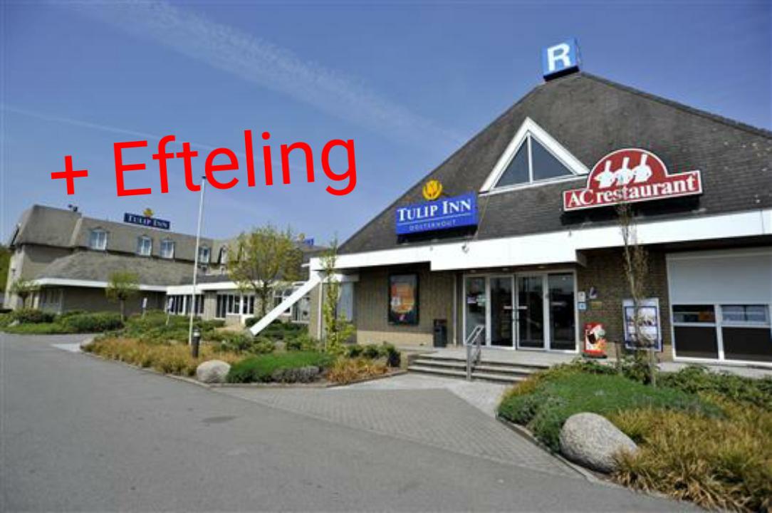 Efteling + logies/ontbijt Tulip Inn Oosterhout €59,50 p.p.
