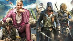 Assassins Creed unity + Far Cry 4 (PS4 & Xbox One) voor €29,99 @ Bol.com
