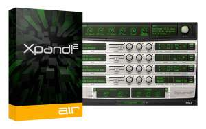 air xpand!2 vst soft synth MAC/WIN van 90,- voor 1,16