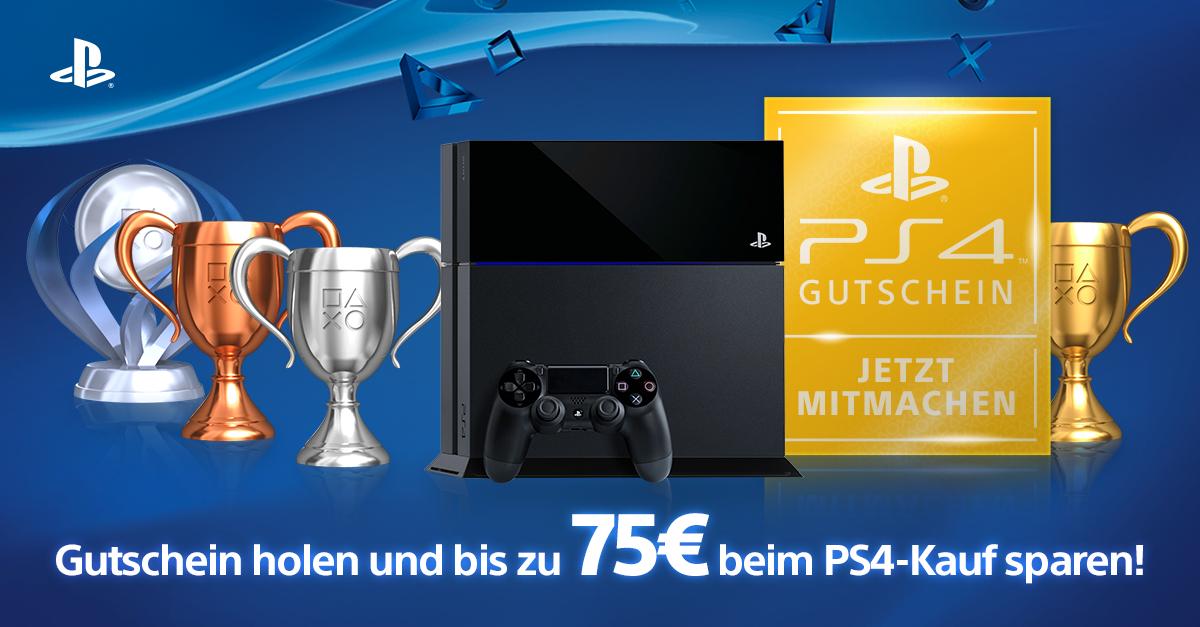 Krijg tot €75 korting op een PS4 bij Amazon.de