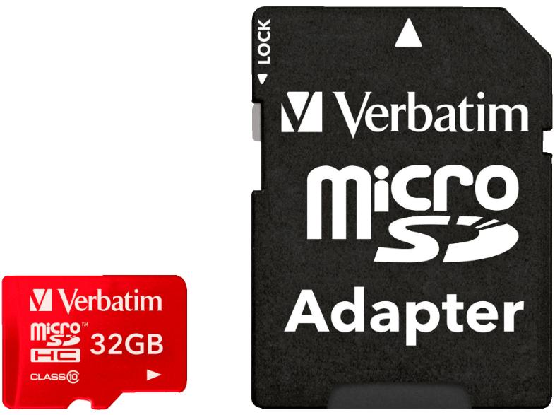 Verbatim MicroSDHC 32 GB Class 10 voor Tablet voor €10 @ Mediamarkt