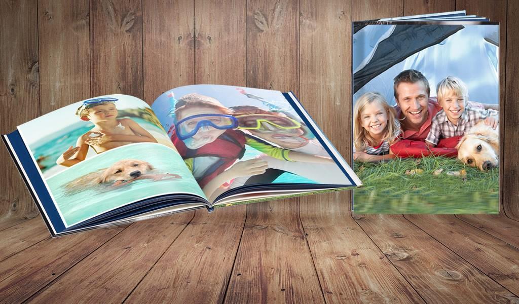 Kruidvat fotoboek Large voor €10
