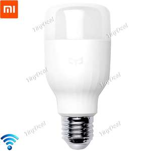 Original Xiaomi Yeelight LED Smart Light Bulb €11,21 @TinyDeal