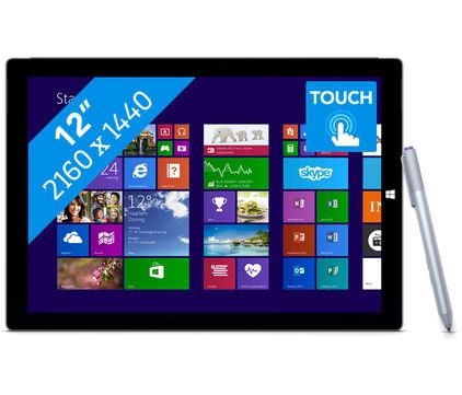 Microsoft Surface Pro 3 (Ci5, 4GB, 128GB) voor €908,90 @ Cyberport.de