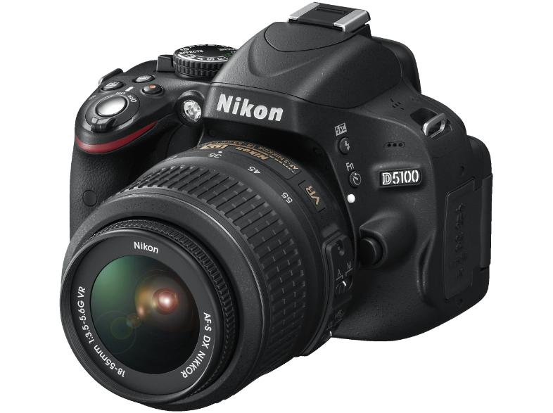 Nikon D5100 + 18-55mm VR Spiegelreflexcamera voor €377 @ Media Markt