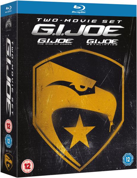 G.I. Joe 1 en 2 Blu-ray boxset voor €15