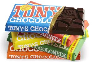 Gratis 50 gr Tony chocolonely