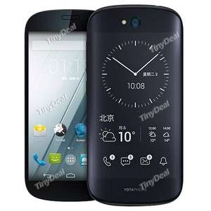 "Yotaphone 2 Snapdragon 801 Quad-core 5"" AMOLED Dual Screen 4G Phone €141,58 @TinyDeal.com"