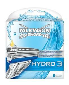 Wilkinson Hydro 3, 8 stuks € 7.50 @ Amazon.de