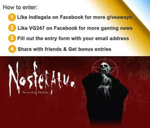 Gratis game Nosferatu: Wrath Of Malachi (Steam)