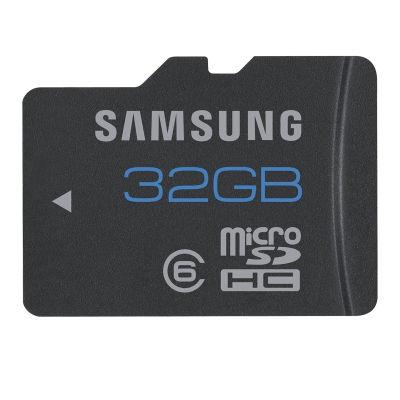 Samsung 32GB Class 6 micro SDHC-kaart voor €10,95 @ Cameranu