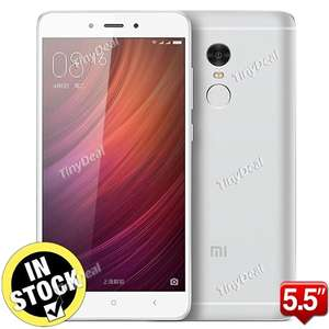 Xiaomi Redmi Note 4 Deca-core Android 6.0 4G Phone (2GB+16GB Version) €151.34 @TinyDeal.com