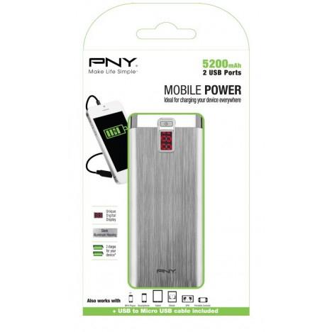PNY PowerPack Digital 5200 voor €10,70 @ SiComputers