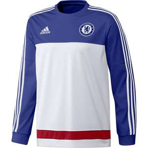 Adidas Chelsea Trainingstrui White Chelseablue 2016 maat M
