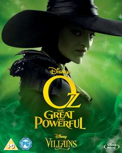 Oz: The Great & Powerful (Limited Artwork Edition) op Blu-ray voor €9.99 @ Zavvi