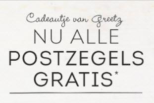 Alle postzegels* gratis @ Greetz