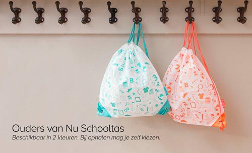 Gratis Schooltas voor kinderen van 3,5 - 12 jaar