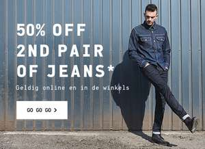 Tweede jeans 50% korting @ Jack & Jones