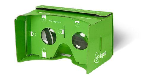 Gratis Cardboard bril @ KPN