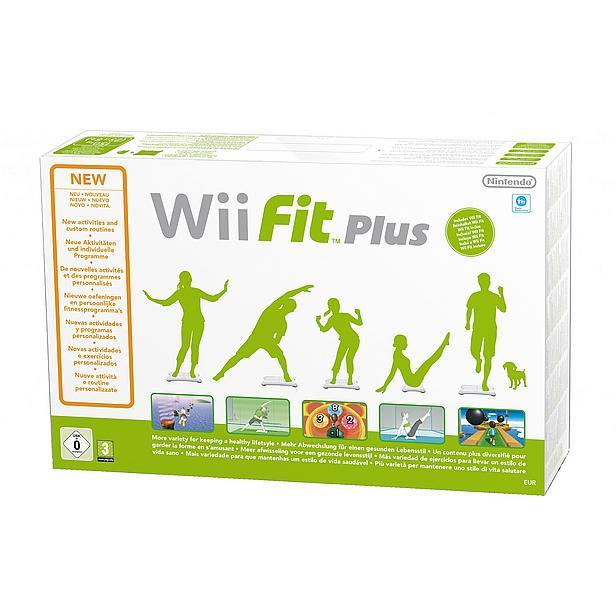 Nintendo Wii Fit Plus + Balance Board (Wit) voor €39,99 @ Bol.com