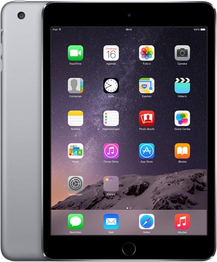 Apple iPad Mini 3 WiFi + Cellular 128GB voor €449 @ Mediamarkt