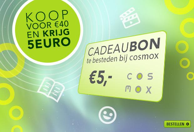 Koop in de hele maand november voor minimaal €40 en ontvang een cadeaubon van €5 @ Cosmox