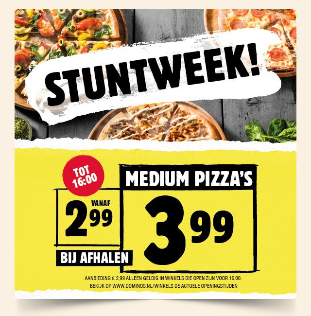 Domino's stuntweek! - pizza voor €2,99