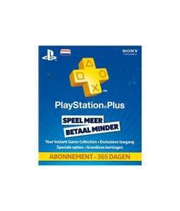 Playstation Network Card 365 Dagen - Netherlands