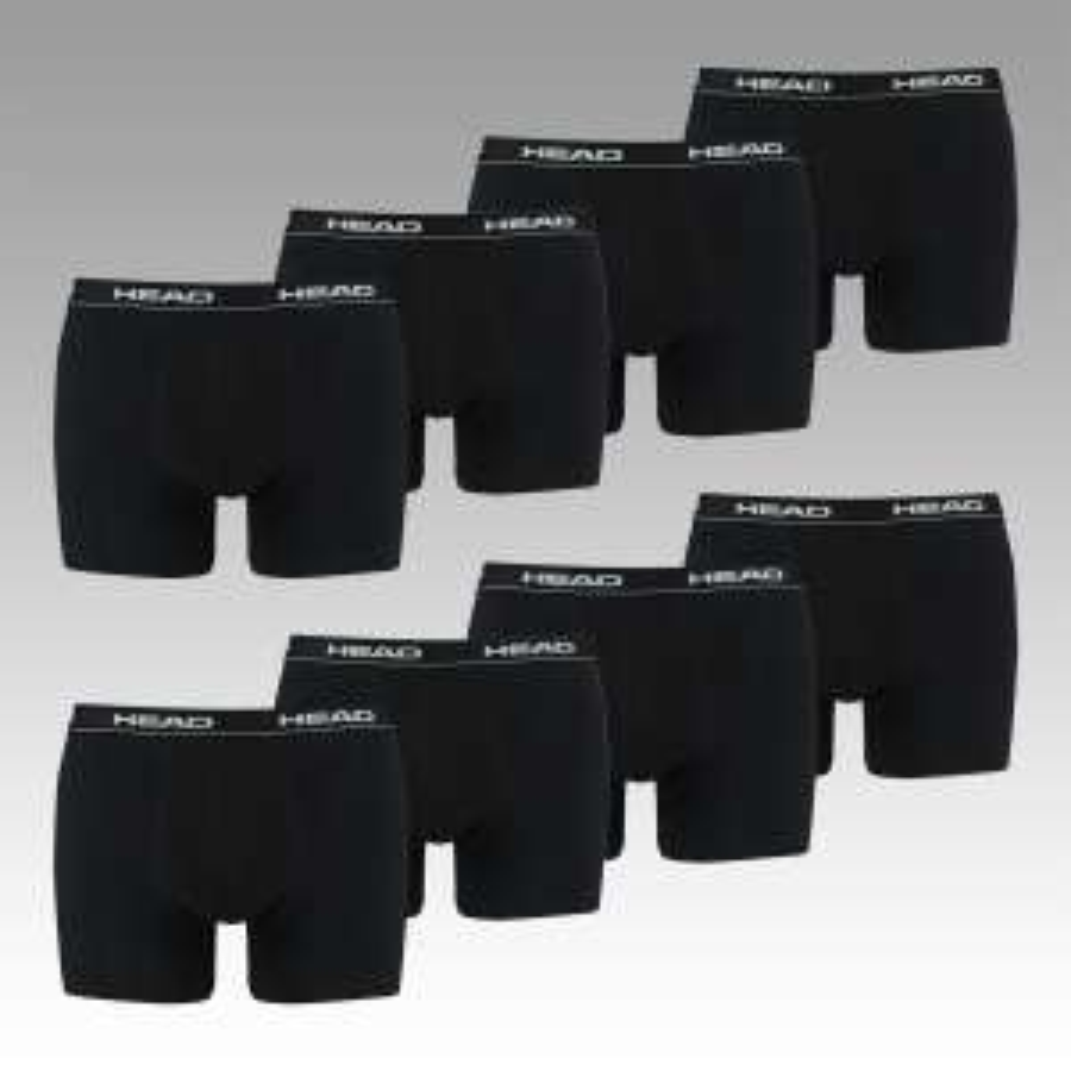 HEAD basic boxershorts 8-pack €23,95 @Allstar Sport