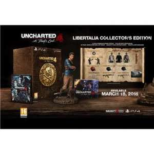 Uncharted 4: A Thief's End Libertalia Collector's Edition voor €54,99 @ Redcoon