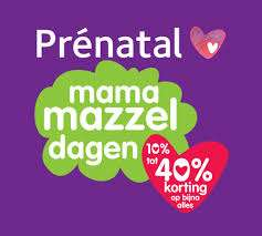 Mama mazzeldagen vanaf 26 september @ Prenatal