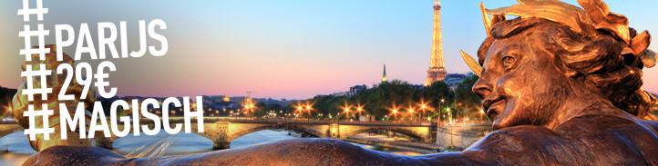 Voor 29 euro naar Parijs met Thalys