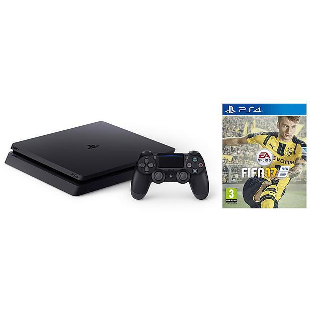 PlayStation 4 Slim (1TB) + FIFA 17 voor €319 @ Wehkamp