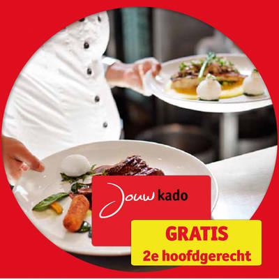 Gratis 2e hoofdgerecht bij meer dan 600 restaurants @ Kruidvat (voor 200 punten)
