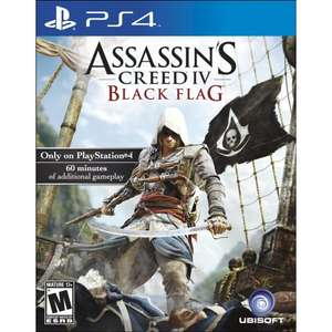 Assassin's Creed IV: Black Flag (PS4) voor 23,08 @ Play-Asia