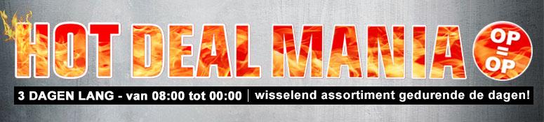 Hot Deal Mania bij Redcoon 3 dagen lang op=op