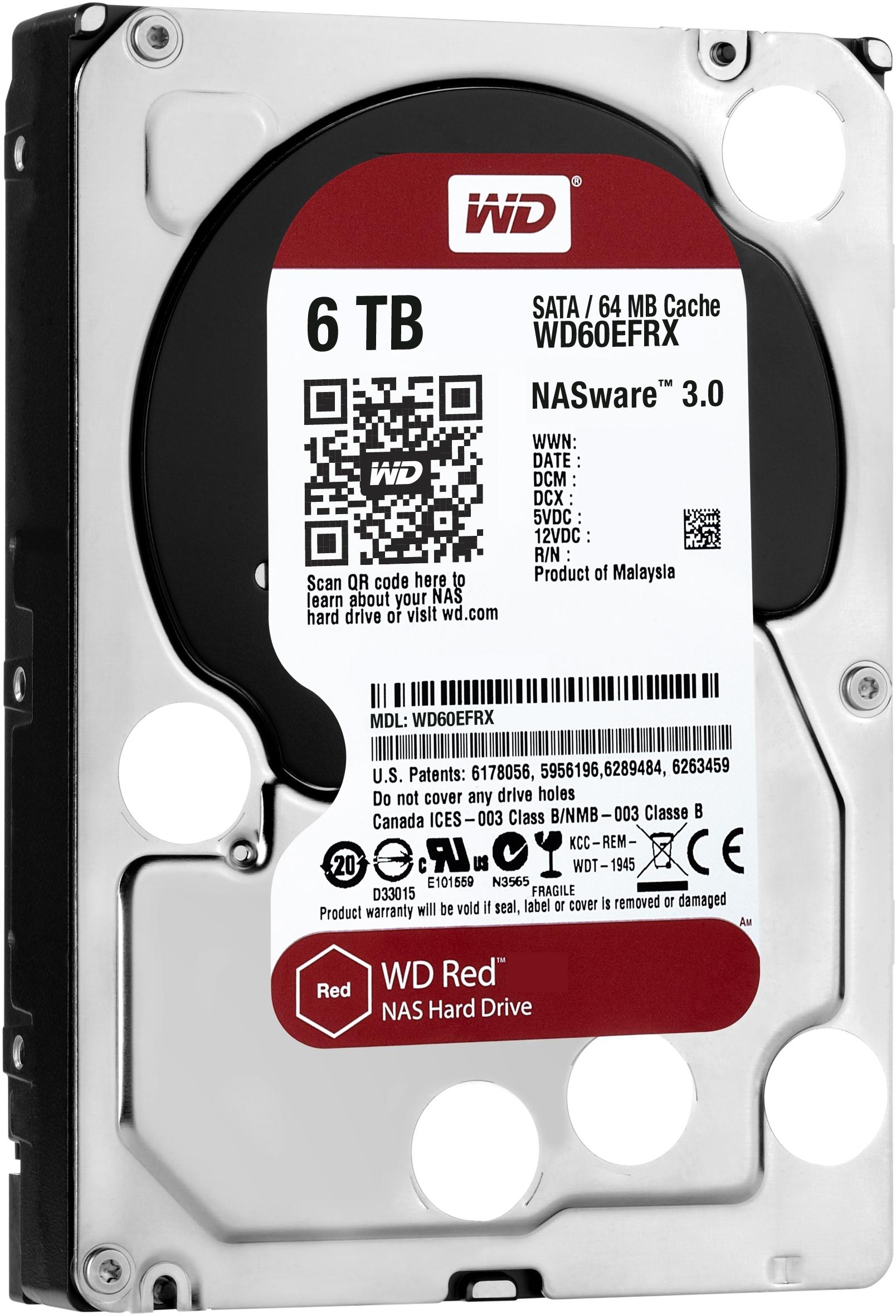 [PRIJSFOUT?] WD Red WD60EFRX 6TB harde schijf voor €82,78 @ Orimo.de
