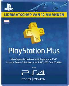 PLAYSTATION PLUS - 365 DAYS SUBSCRIPTION (HOLLAND)
