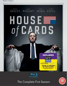 House Of Cards - Seizoen 1 (Blu-ray + UV Copy) voor € 16,99 @ WOW HD