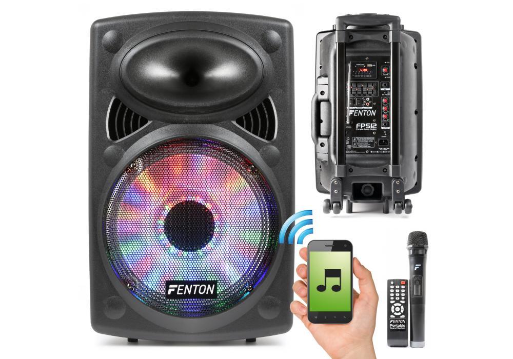 Mobiele geluidsset met Bluetooth en LED's @Formido