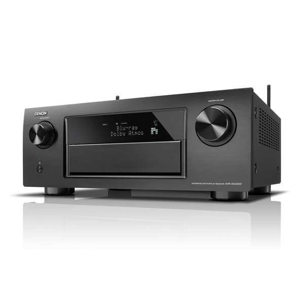 Zwarte AVR-X6200W Receiver voor €1399 @ HiFiKlubben