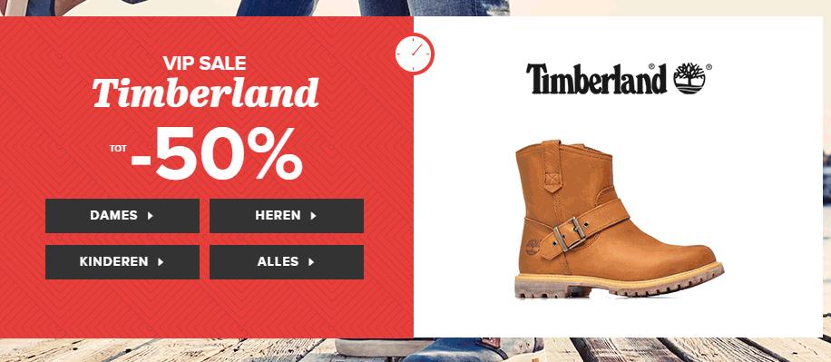 50% korting op veel Timberland schoenen @ Sarenza