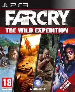 Far Cry: The Wild Expedition PS3 (4 Games)  voor €20