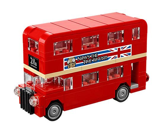 Londense bus gratis bij je bestelling en €10 korting via code @ LEGO Shop