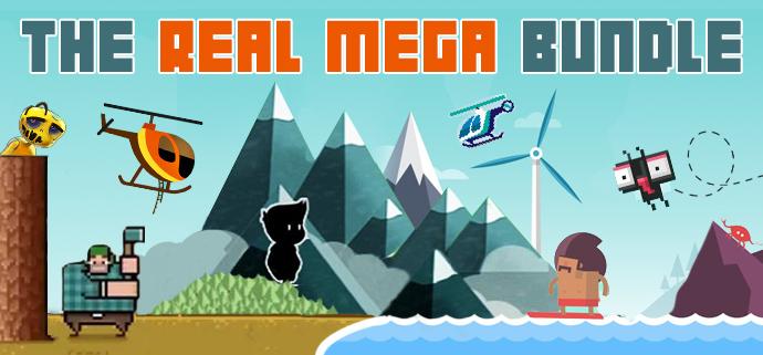 The Real Mega Bundle - 28 games (Steam) voor $2,48 @ Indiegala