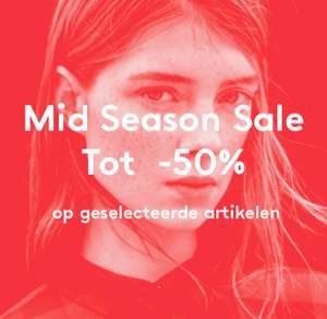 Mid Season SALE - tot 50% korting - dames /heren /kids - @ Mango